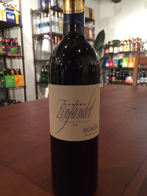 seghesio sonoma zinfandel boutique du vin 5under25 mayo14