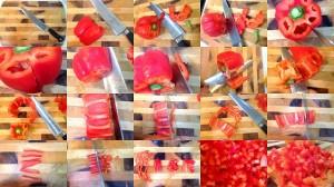 como cortar un pimiento_el pilon
