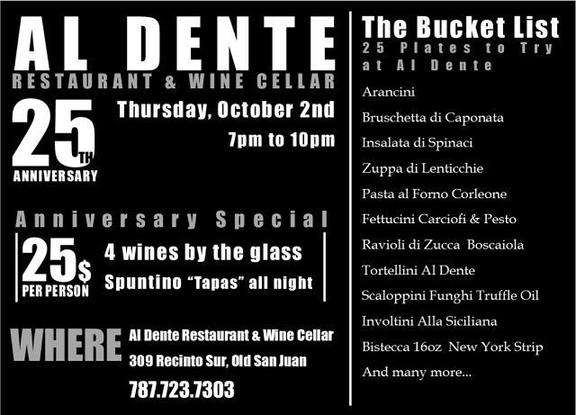 Al Dente 25th anniversary Promo_2oct14