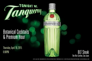 Invitación Tonight We Tanqueray BLT EDP
