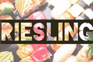 sushi riesling