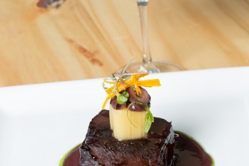 Angus Short Ribs Braised in Malbec