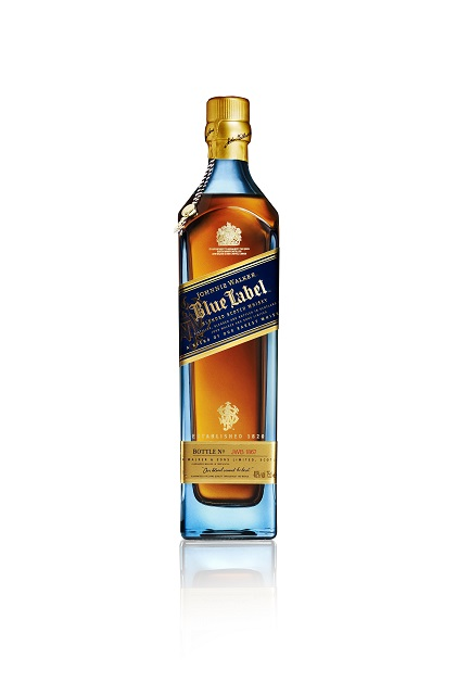 JW Blue Bottle