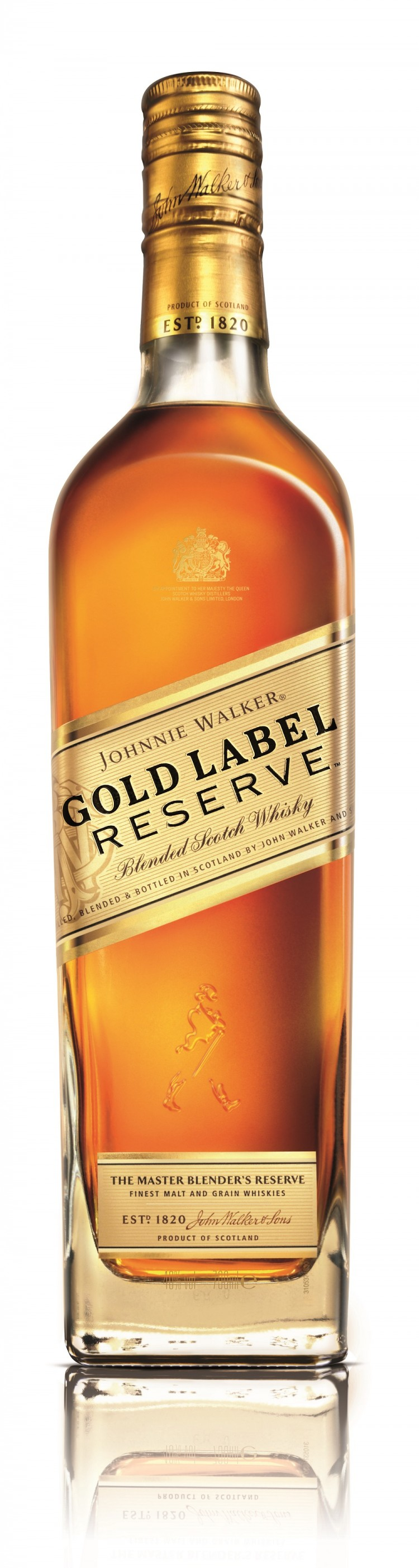 JW Gold Label Reserve bottle - front - edit
