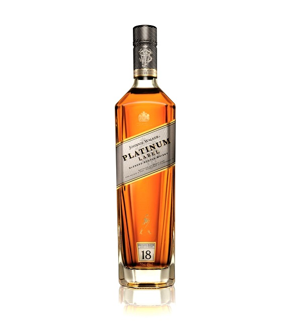 JW Platinum Bottle - front
