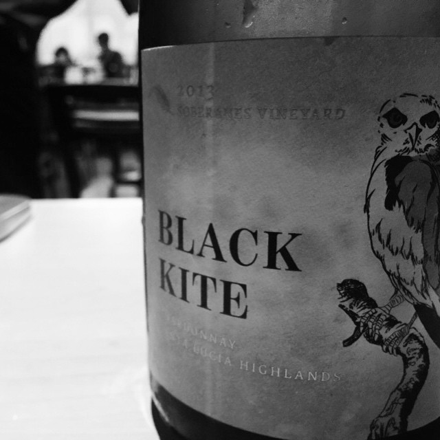 BLACK KITE SOBERANES VINEYARD SANTA LUCIA 2013