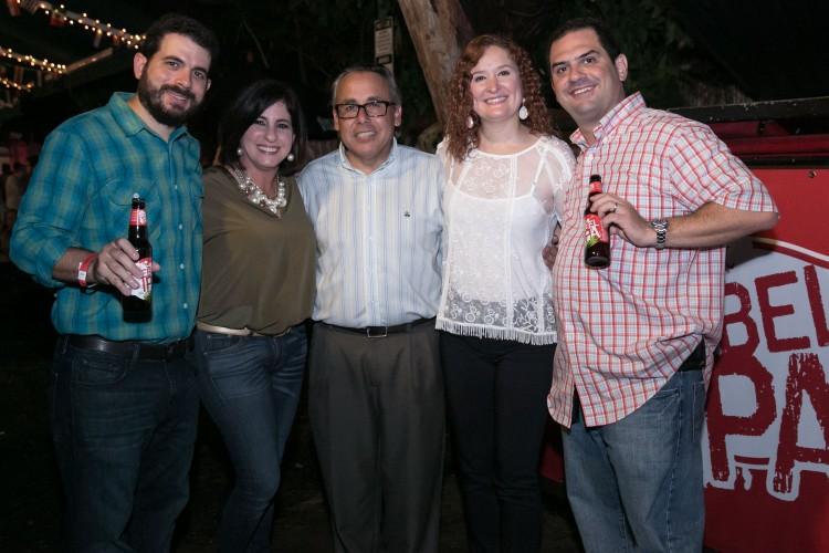 Raúl Marcial, Ivelisse García, Carlos Rodríguez, Glorycell Melendez, y Javier Pérez de V. Suárez.